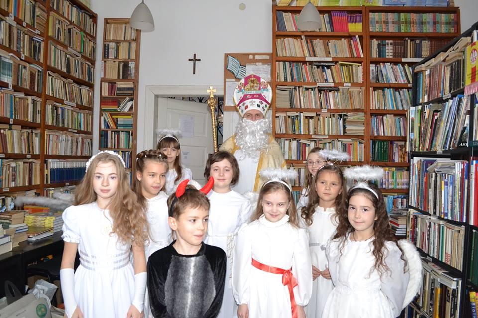 św. Mikołaj zagościł i we Lwowie